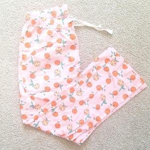 Old Navy Oranges Pajama Pants - worn once
